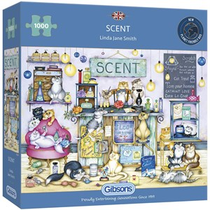 """Gibsons (G6287) - Linda Jane Smith: """"Scent"""" - 1000 pièces"""