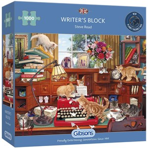 """Gibsons (G6290) - Steve Read: """"Writer's Block"""" - 1000 pièces"""