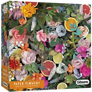 "Gibsons (G6600) - Rachel Emma Waring: ""Paper Flowers"" - 1000 pièces"