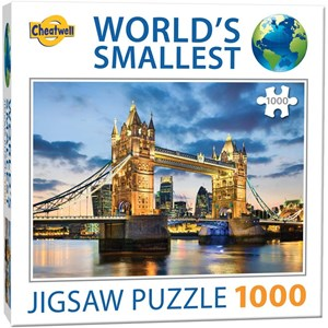 """Cheatwell Games (13954) - """"World's Smallest"""" - 1000 pièces"""