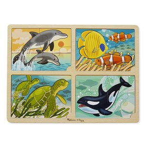 "Melissa and Doug (9367) - ""Sea Life"" - 16 pièces"