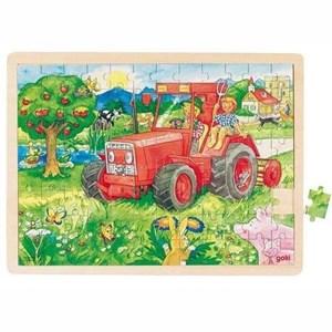 "Goki (57655) - ""Tractor"" - 96 pièces"