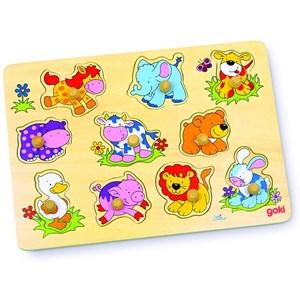 "Goki (57838) - ""Baby Animals"" - 10 pièces"