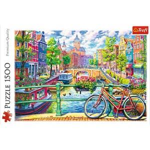 "Trefl (26149) - ""Amsterdam"" - 1500 pièces"