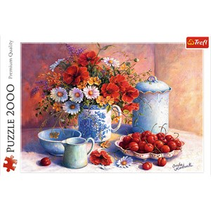 "Trefl (27093) - Hardwick Trisha: ""Sweet Afternoon"" - 2000 pièces"