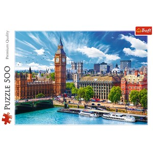 """Trefl (37329) - """"Sunny day in London"""" - 500 pièces"""