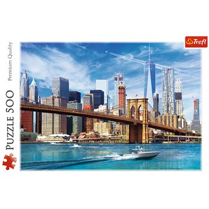 "Trefl (37331) - ""View of New York"" - 500 pièces"