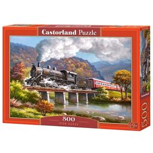 """Castorland (B-53452) - """"Le cheval de fer"""" - 500 pièces"""