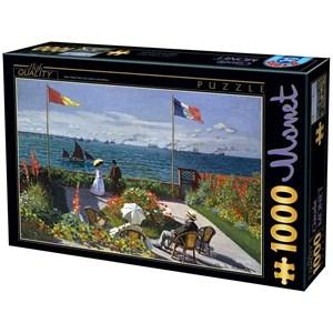 """D-Toys (67548-7) - Claude Monet: """"Terrasse à Sainte-Adresse, 1867"""" - 1000 pièces"""