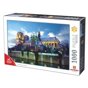 """D-Toys (75772-02) - """"Notre Dame de Paris, France"""" - 1000 pièces"""