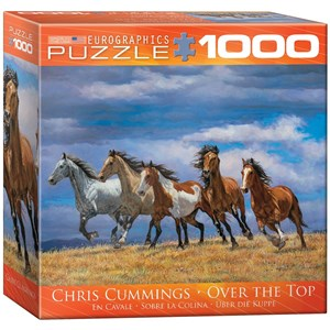 """Eurographics (8000-0709) - Chris Cummings: """"En Cavale"""" - 1000 pièces"""