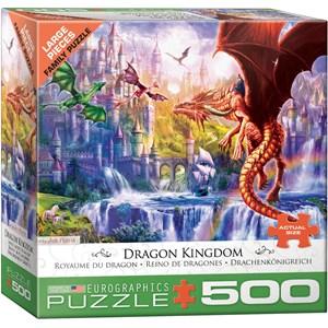 """Eurographics (6500-5362) - """"Royaume du Dragon"""" - 500 pièces"""