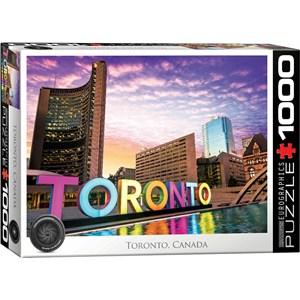 """Eurographics (6000-5432) - """"Toronto, Canada"""" - 1000 pièces"""