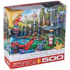 "Eurographics (6500-5361) - Jason Taylor: ""Totem Dreams"" - 500 pièces"