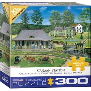 "Eurographics (8300-5388) - Bob Fair: ""Canaan Station"" - 300 pièces"