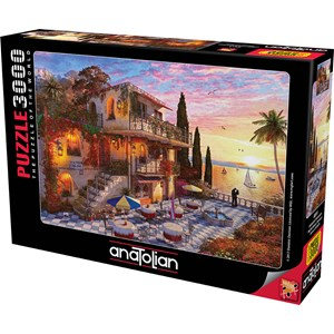 "Anatolian (4911) - Dominic Davison: ""Mediterranean Romance"" - 3000 pièces"