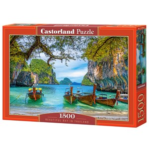 """Castorland (C-151936) - """"Beautiful Bay in Thailand"""" - 1500 pièces"""