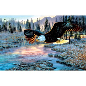 "SunsOut (70909) - Cynthie Fisher: ""Eagle Dawn"" - 1000 pièces"