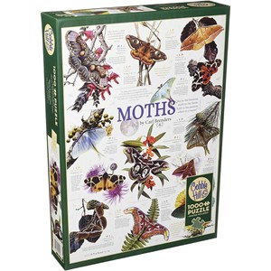 """Cobble Hill (80016) - Carl Brenders: """"Moth Collection"""" - 1000 pièces"""