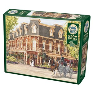 """Cobble Hill (80290) - Walter Campbell: """"Prince of Wales Hotel"""" - 1000 pièces"""