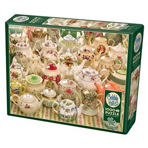 "Cobble Hill (80281) - ""Teapots Too"" - 1000 pièces"
