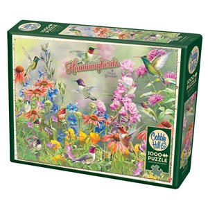 """Cobble Hill (80270) - Susan Bourdet: """"Hummingbirds"""" - 1000 pièces"""