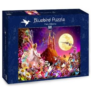 """Bluebird Puzzle (70177) - Bente Schlick: """"Fairy Dreams"""" - 500 pièces"""