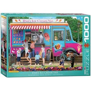 "Eurographics (6000-5519) - Paul Normand: ""Dan's Ice Cream Van"" - 1000 pièces"