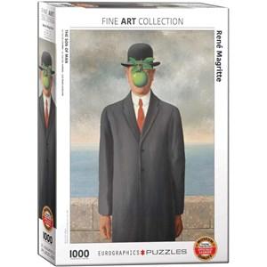 """Eurographics (6000-5478) - Rene Magritte: """"Le Fils de l'Homme"""" - 1000 pièces"""