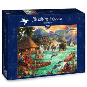 "Bluebird Puzzle (70052) - Chuck Pinson: ""Island Life"" - 2000 pièces"