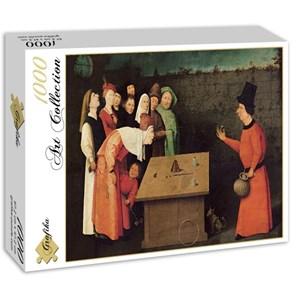 "Grafika (01164) - Jerome Bosch: ""The Conjurer, 1502"" - 1000 pièces"