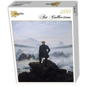 """Grafika (01719) - Caspar David Friedrich: """"Le voyageur au-dessus de la mer de nuages, 1818"""" - 300 pièces"""
