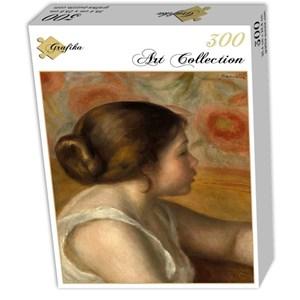 """Grafika (01905) - Pierre-Auguste Renoir: """"Tête de Jeune Fille, 1890"""" - 300 pièces"""