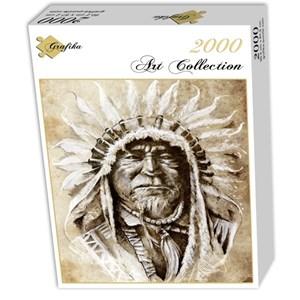 "Grafika (00651) - ""Indian Chief"" - 2000 pièces"