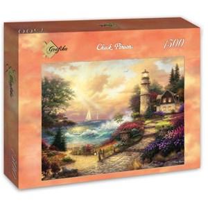 "Grafika (t-00772) - Chuck Pinson: ""Seaside Dreams"" - 1500 pièces"
