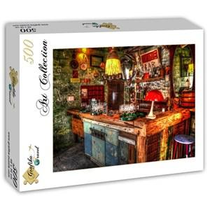 "Grafika (t-00842) - ""Ruin Bar in Budapest"" - 500 pièces"