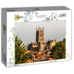 "Grafika (t-00936) - ""Worcester Cathedral viewed from Fort Royal Park"" - 1500 pièces"