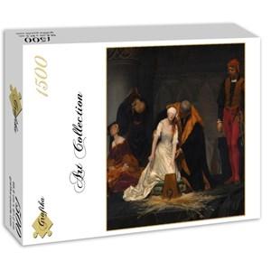 """Grafika (00752) - Paul Delaroche: """"Le Supplice de Lady Jane Grey, 1833"""" - 1500 pièces"""