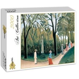 """Grafika (00503) - Henri Rousseau: """"Le Jardin du Luxembourg, 1909"""" - 2000 pièces"""