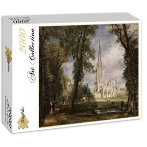 """Grafika (00401) - John Constable: """"La Cathédrale de Salisbury, 1825"""" - 2000 pièces"""