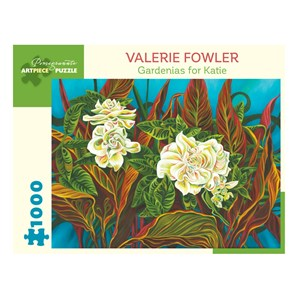 """Pomegranate (aa1044) - Valerie Fowler: """"Gardenias for Katie"""" - 1000 pièces"""
