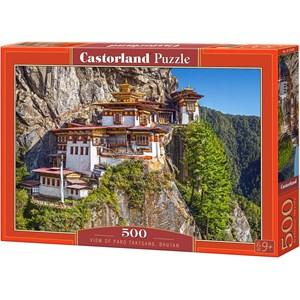 "Castorland (B-53445) - ""Paro Taktsang, Bhutan"" - 500 pièces"