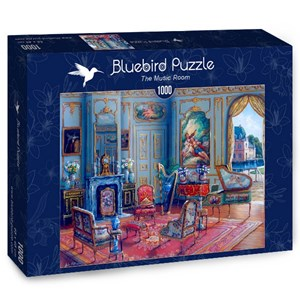 "Bluebird Puzzle (70341) - John O'Brien: ""The Music Room"" - 1000 pièces"
