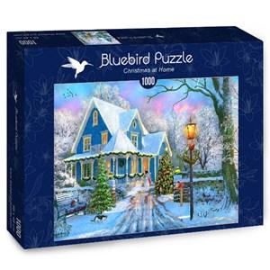 "Bluebird Puzzle (70340) - Dominic Davison: ""Christmas at Home"" - 1000 pièces"