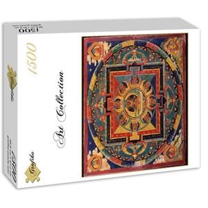 """Grafika (00753) - """"Ecole Tibétaine - Mandala d'Amitabha"""" - 1500 pièces"""