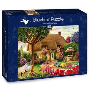 "Bluebird Puzzle (70319) - Adrian Chesterman: ""Thatched Cottage"" - 1000 pièces"