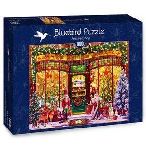 """Bluebird Puzzle (70342) - Garry Walton: """"Festive Shop"""" - 1000 pièces"""