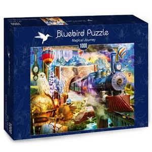 "Bluebird Puzzle (70343) - Jan Patrik Krasny: ""Magical Journey"" - 1000 pièces"