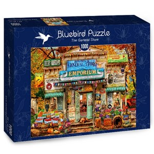 "Bluebird Puzzle (70332) - Aimee Stewart: ""The General Store"" - 1000 pièces"