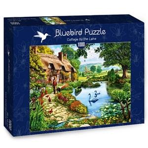 """Bluebird Puzzle (70315) - Steve Crisp: """"Cottage by the Lake"""" - 1000 pièces"""